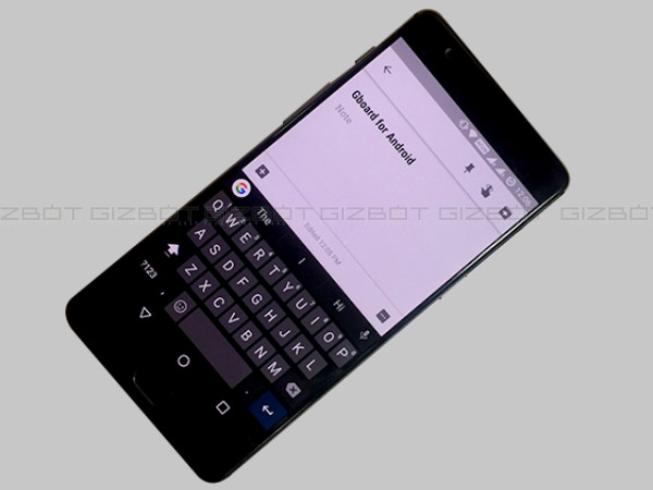 Gboard for Android gets Indian languages support, text editing tool and more