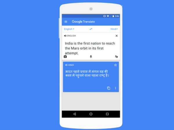 Google adds support for nine Indian languages to Google Translate, Chrome and Gboard