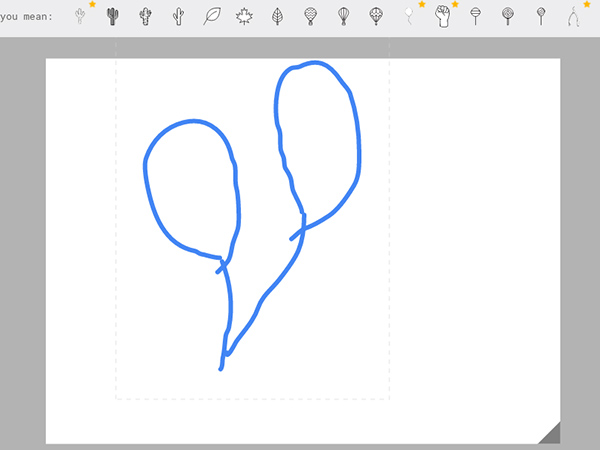 Google's  AutoDraw turns your scribble to art