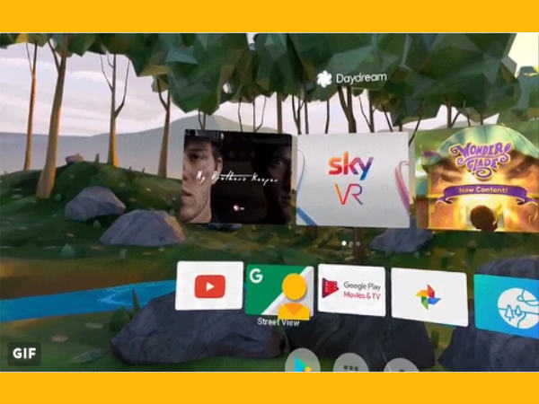 Google's Daydream App and Keyboard updated