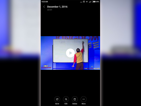 How to trim or shorten your videos on Android phone