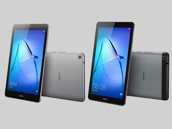 Huawei MediaPad T3 and MediaPad T3 7 budget friendly tablets launched