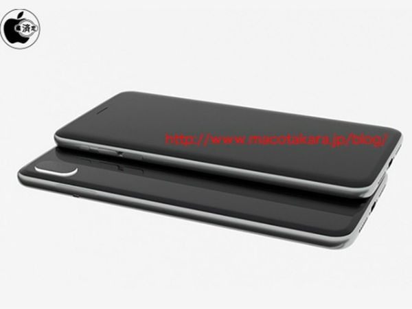 iPhone 8  to come with glass sandwich design and flat OLED display