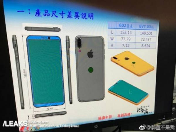 New iPhone 8 leaks show a rear touch ID