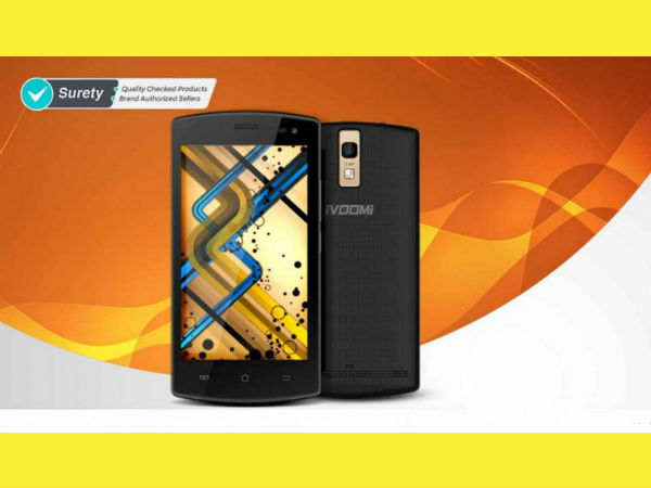 iVoomi iV SMART 4G launched at Rs 2,799