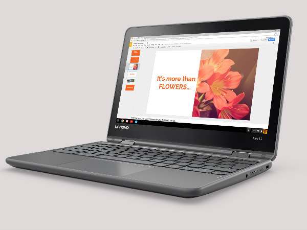 Lenovo unveils a new 2-in-1 laptop the Flex 11 Chromebook