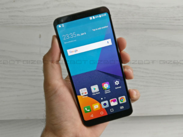 LG G6 launched in India at Rs. 51,990; sale debuts tomorrow