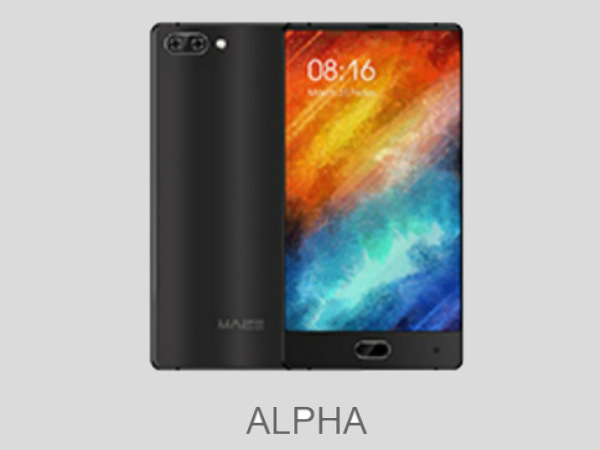 Maze Alpha bezel-less smartphone coming soon: Specs leaked