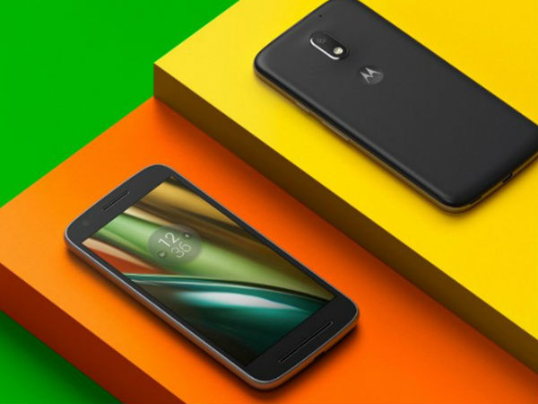 Motorola will launch Moto E4 and E4 plus as it passes through the FCC