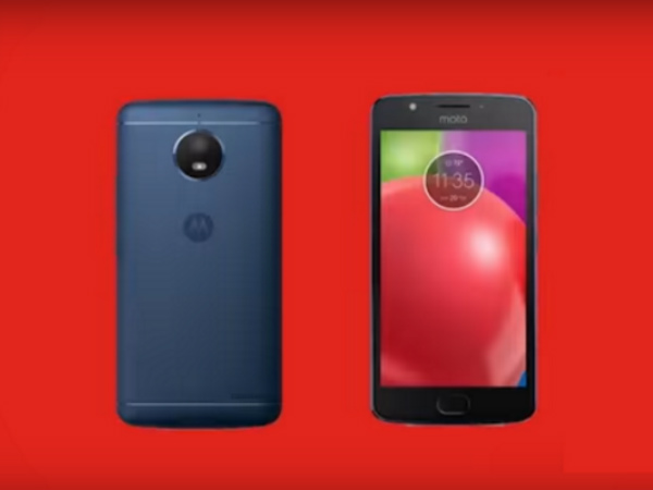 Moto X (2017) and a mysterious smartphone shown in Motorola's video