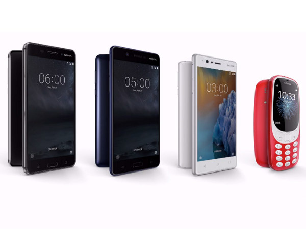 Nokia 3, 5, 6, 3310 to hit the United Kingdom in June