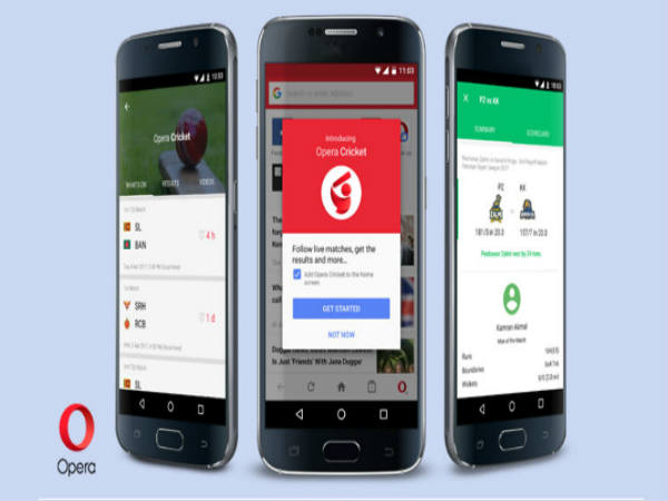 "Opera Mini launches new feature ""Opera Cricket"" for IPL ..."