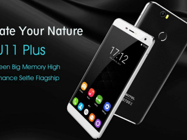 Oukitel U11 Plus with 3,700 mAh battery to release globally soon