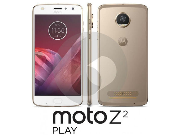 Press renders of Moto Z2 Play leaked: No major changes in design