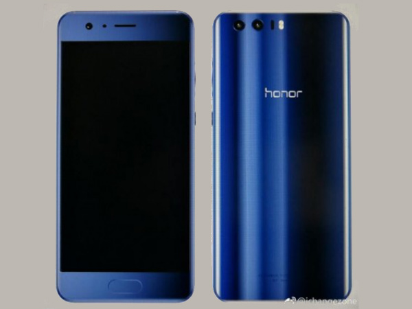Purported Honor 9 render hits the web; exposes the design