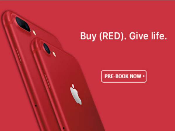 Red Apple iPhone 7, 7 Plus are up for pre-order from Rs. 70,000