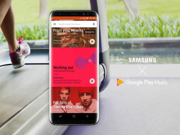 Google Play Music will now be the default music app on Samsung devices