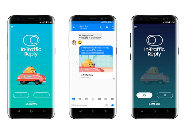 Samsung's In-Traffic Reply App prevents distracted driving
