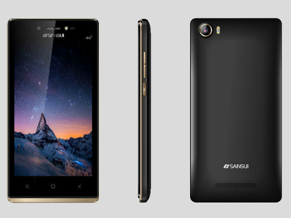 Sansui Horizon 1 4G smartphone launched at Rs. 3,999