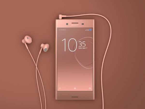 Sony announces Xperia XZ Premium in Bronze Pink Color