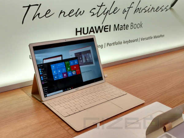 Three Huawei MateBook models leaked; one looks like Microsoft Surface