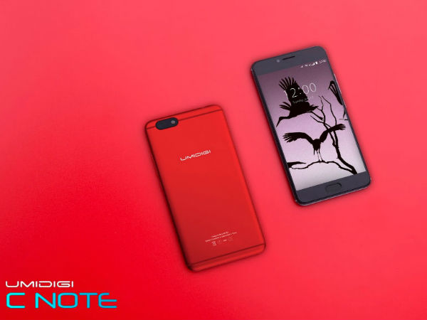 UMIDIGI C Note now available in red color variant