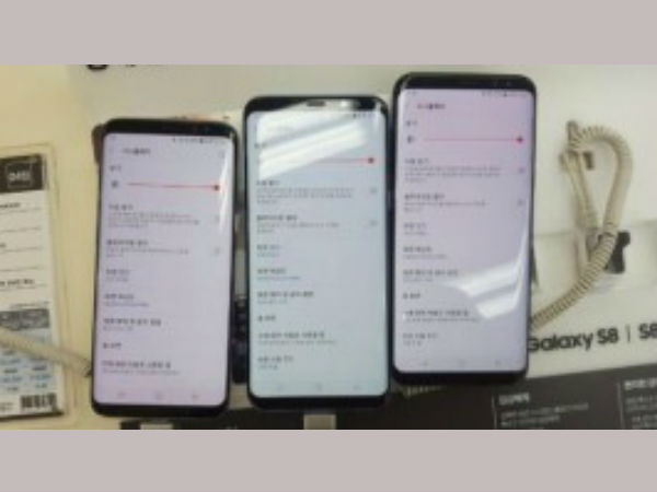 Reddish tint appears on the Samsung Galaxy S8 and S8 Plus screens