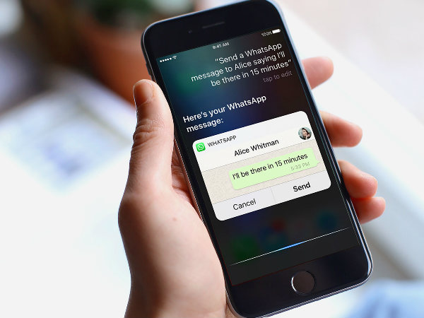 WhatsApp iOS users can now ask Siri to read and reply to their message
