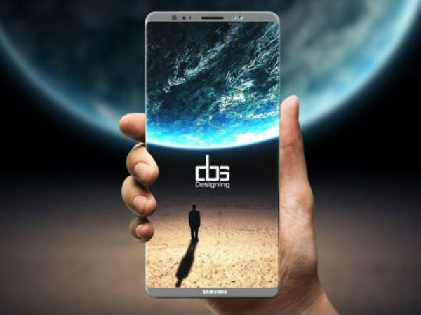 Samsung Galaxy Note 8 to sport infinity display: Concept render