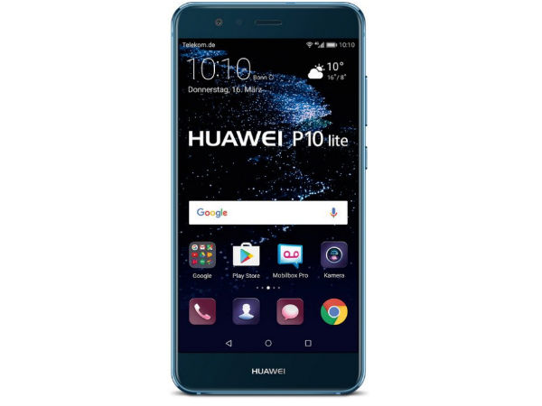 The Huawei P10 Lite now available in Shimmering Blue version