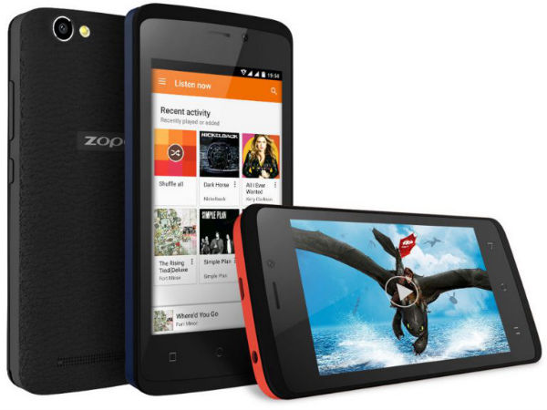 ZOPO Color M4 with 4G VoLTE launched at Rs. 4,999