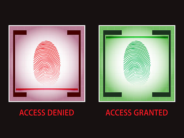 But what happens when someone tries to scan their fingerprint?