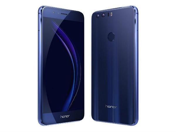 Honor 8 at 24999 (Extra 5000 off on exchange)