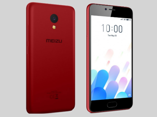 Meizu M5c Smartphone Gets Official