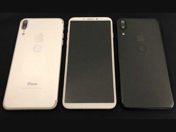 iPhone 8 design is different