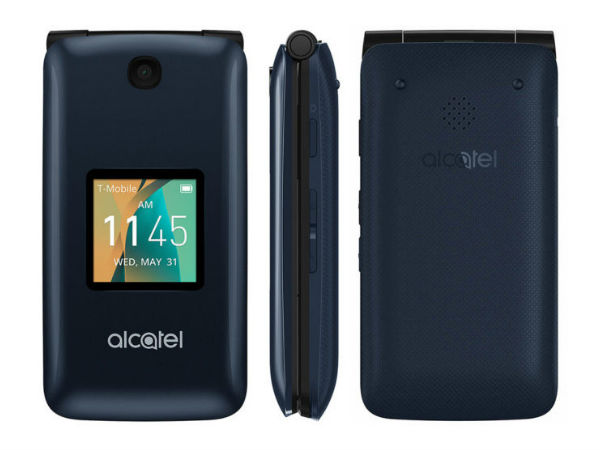 Alcatel GO Flip phone with 4G LTE support launched