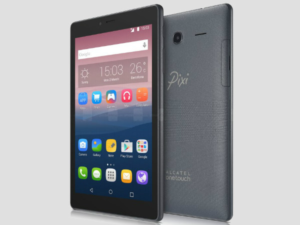 Alcatel Pixi 4 (7) tablet launched: Price, Specifications and more