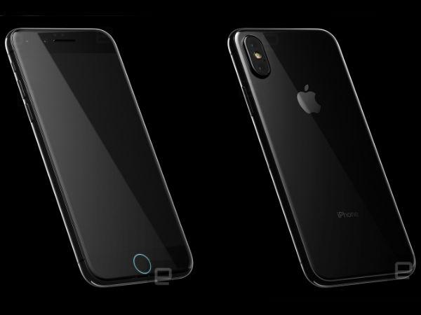 Alleged iPhone 8 renders show dual selfie cameras