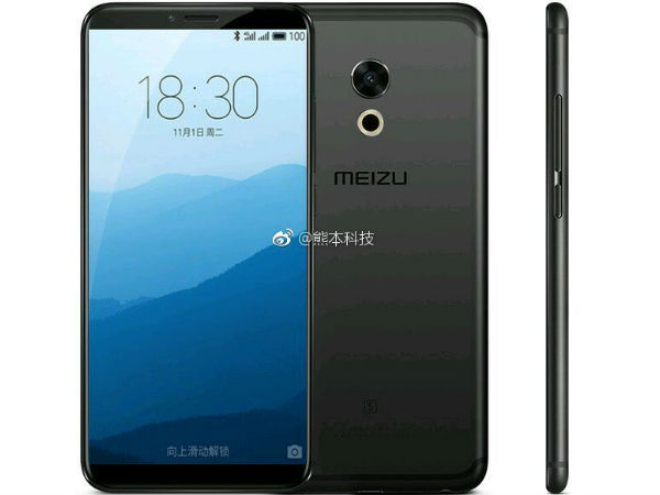 Alleged Meizu Pro 7 renders leaked: Almost bezel-less display