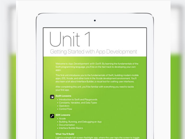 Apple introduces new app development curriculum with Swift for student