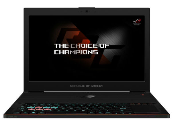 Asus launches ROG Zephyrus gaming laptop with Nvidia GeForce GTX 1080