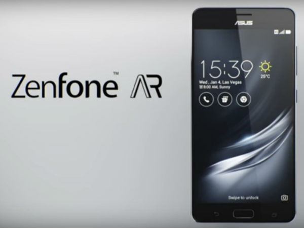 Asus ZenFone AR, the new Tango phone coming soon