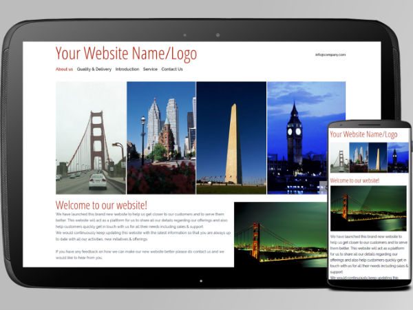 Create a website for free using your smartphone with this app