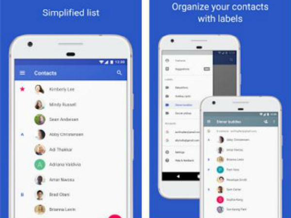Google Contacts 2.0 gets new UI and features before Android O's launch