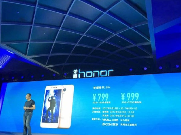 Honor 6A with 5-inch HD display and SD 435 SoC launched