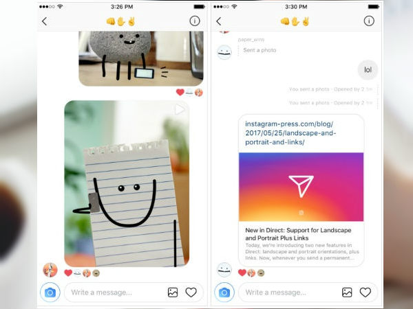 Instagram update now allows you to embed links and add