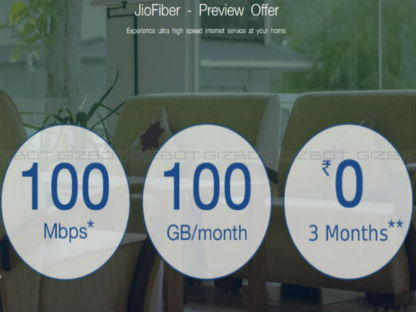 JioFiber to offer 100GB data at 100Mbps speed free for 90 days