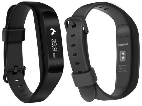 Lenovo Smart Band HW01 launched at Rs. 1,999; exclusive to Flipkart