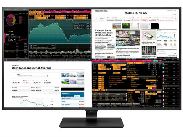 LG's new 4K monitor puts four displays in one 42.5-inch panel