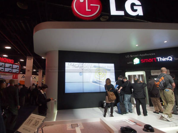 LG announces Google Home compatible appliances